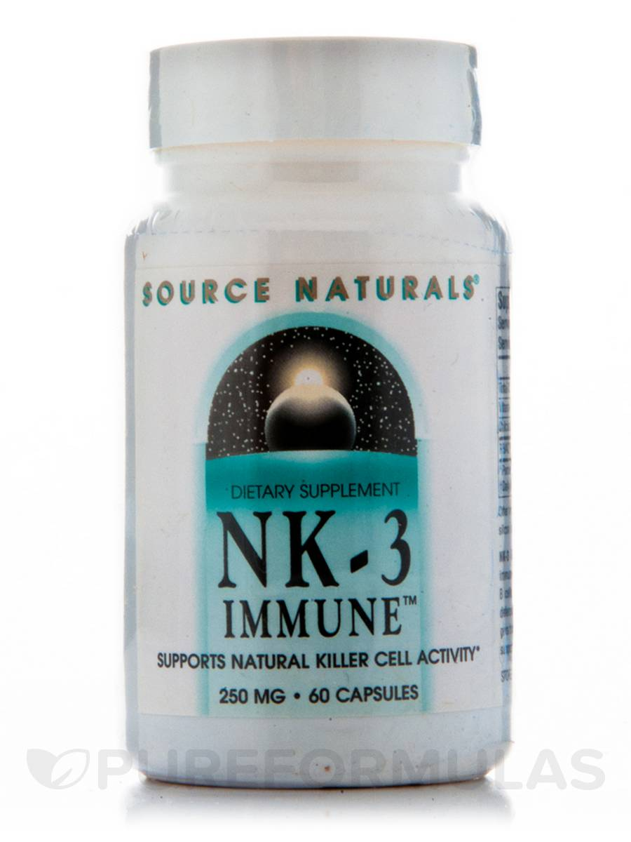 NK-3 Immune with Vit C 250 mg - 60 Capsules