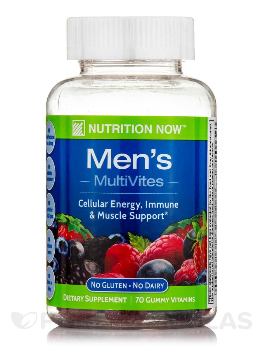 Men's Gummy Vitamins (Assorted Flavors) - 70 Gummies