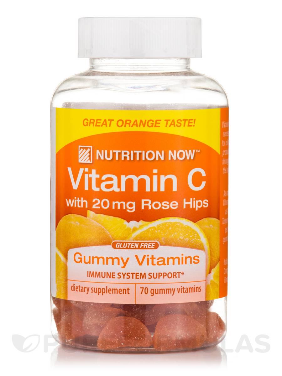 Vitamin C Gummy Vitamins (Tangy Flavor) - 70 Gummies