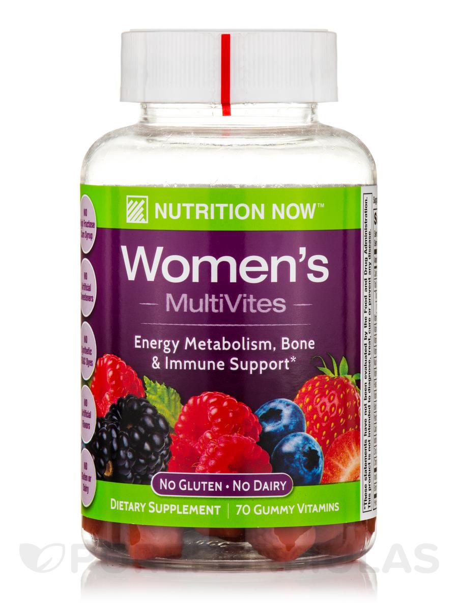 Women's Gummy Vitamins (Assorted Flavors) - 70 Gummies