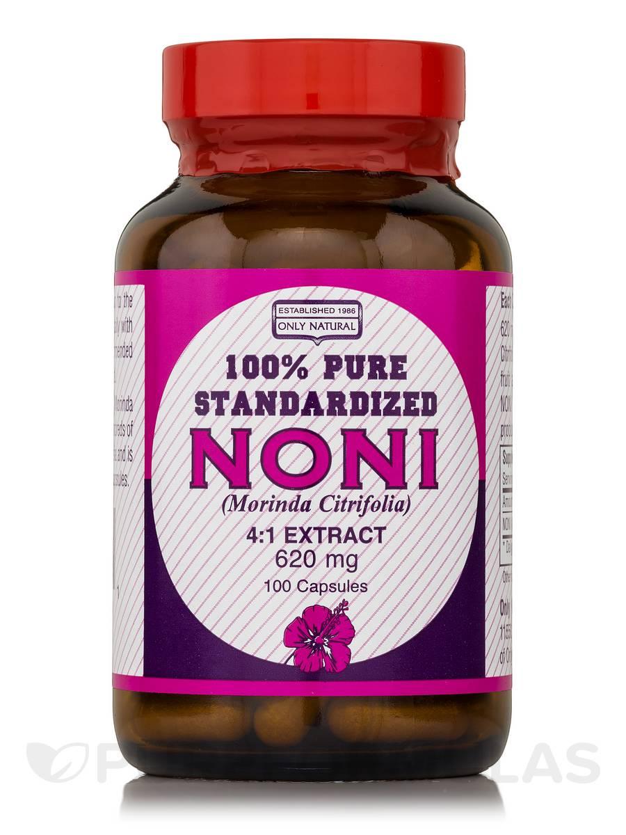 Noni 4:1 Extract 620 mg - 100 Capsules
