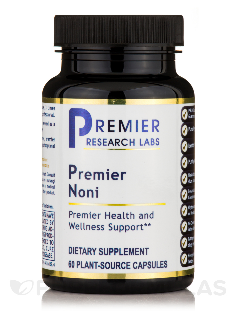 Premier Noni - 60 Vegetable Capsules