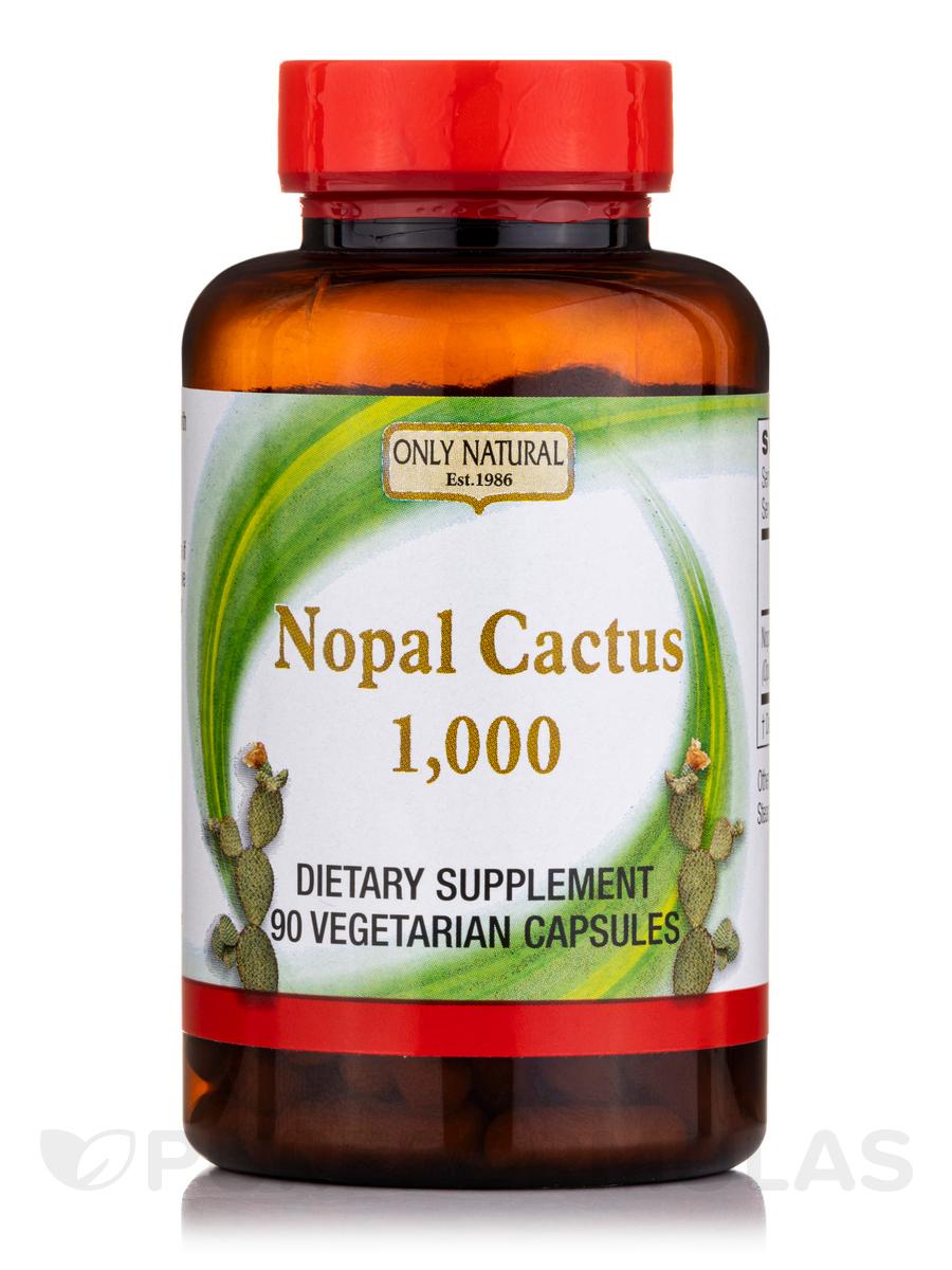 Nopal Cactus 1000 mg - 90 Veggie Capsules