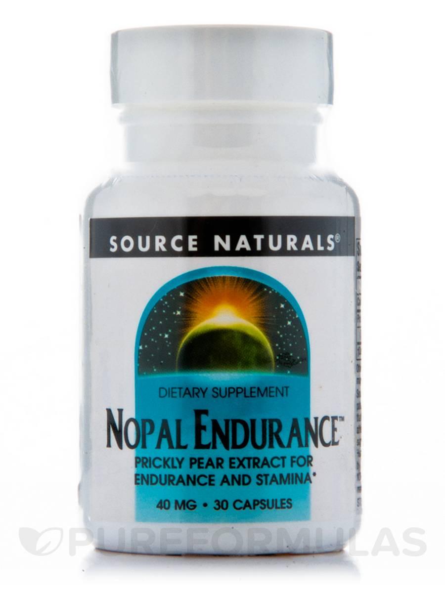 Nopal Endurance 40 mg - 30 Capsules