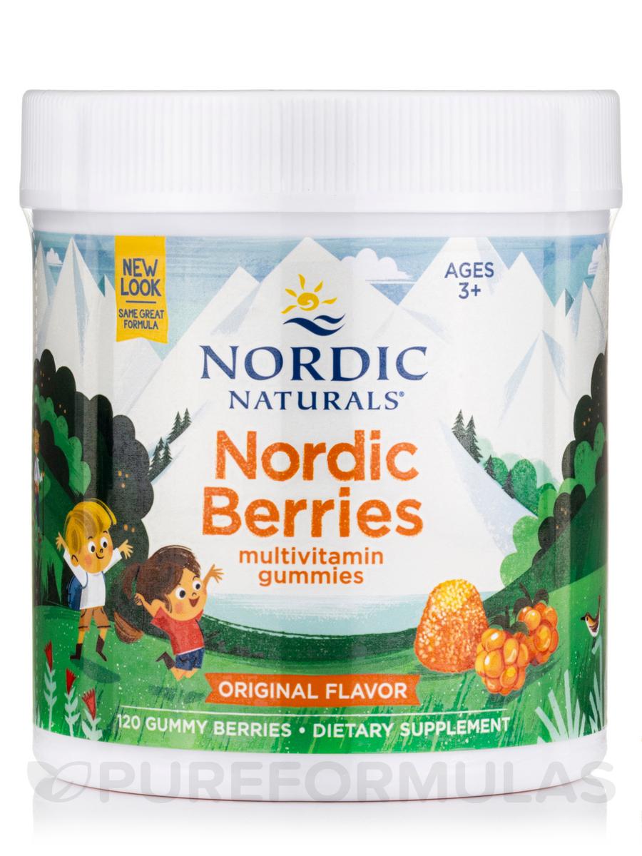 Nordic Berries™, Citrus Flavor - 120 Gummies