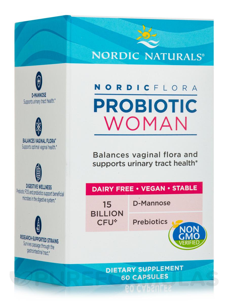 Nordic Flora Probiotic Woman - 60 Capsules