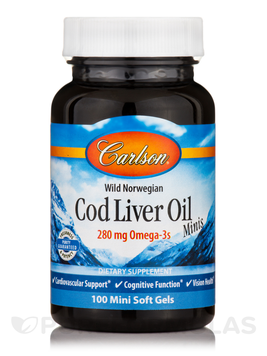 Norwegian Cod Liver Oil - 100 Soft Gels