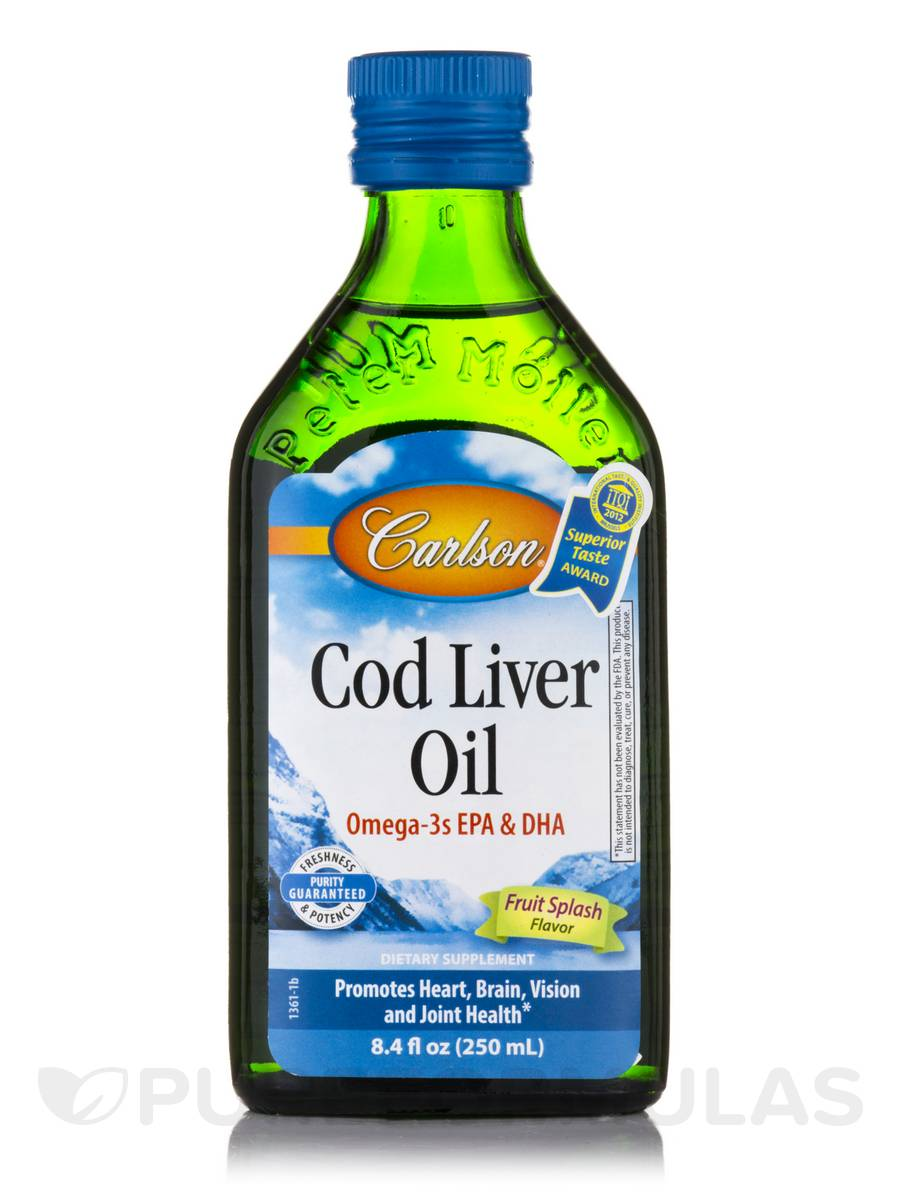 Norwegian Cod Liver Oil Bubble Gum Flavor - 8.4 fl. oz (250 ml)