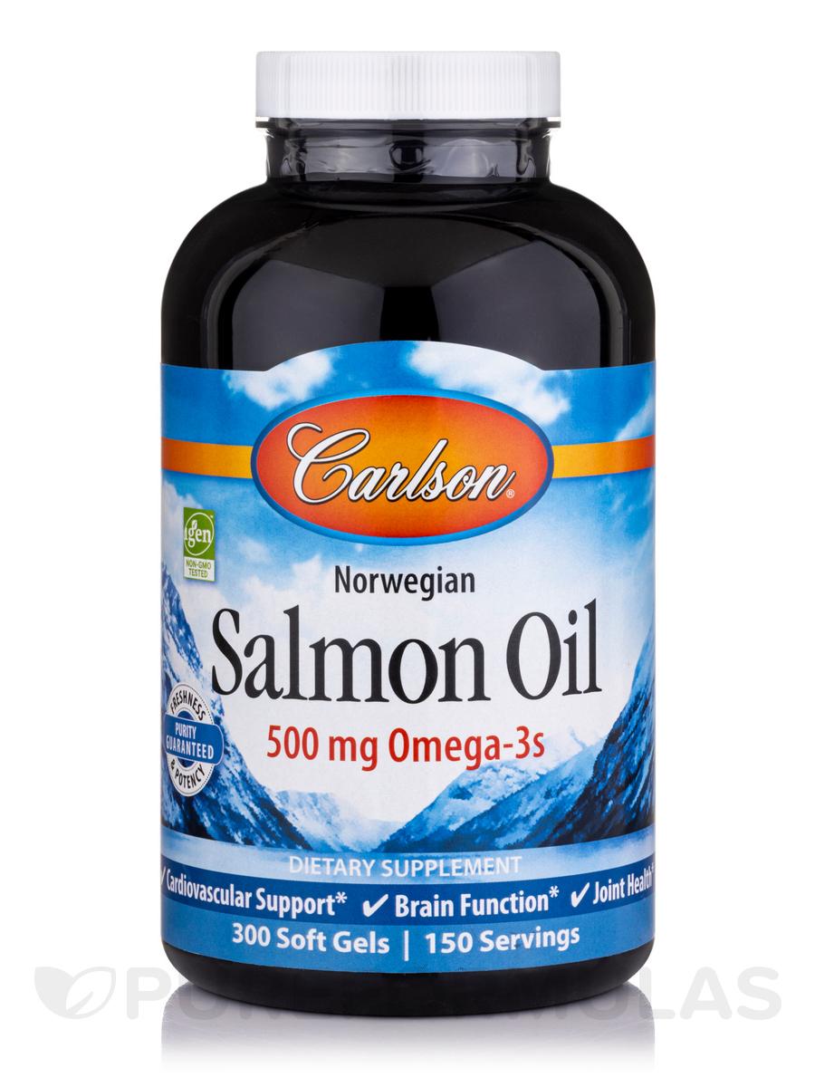 Norwegian Salmon Oil 500 mg - 300 Soft Gels