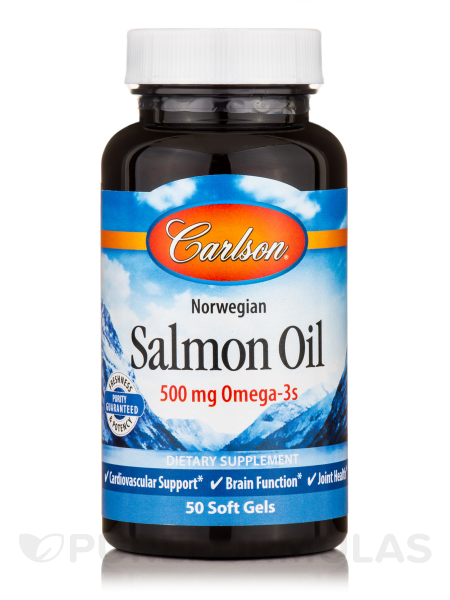 Norwegian Salmon Oil 1000 mg - 50 Soft Gels
