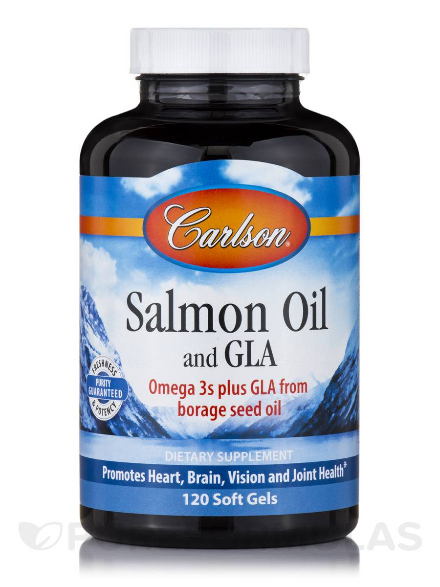 Norwegian Salmon Oil and GLA - 120 Soft Gels