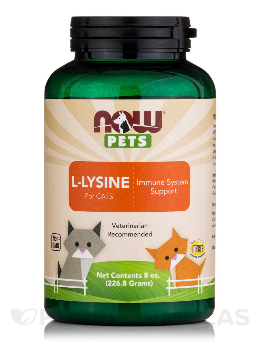 Dry Cat Food With L Lysine