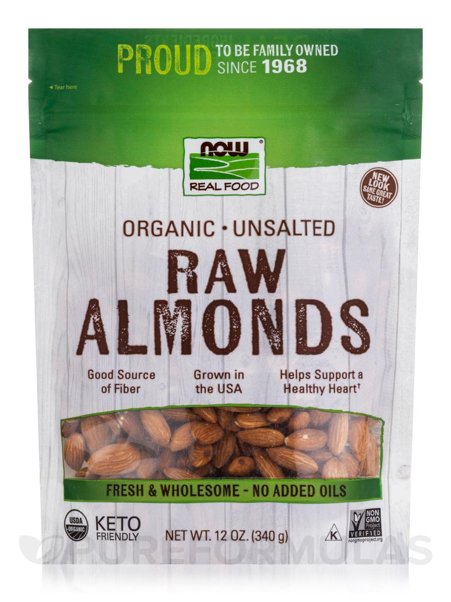 NOW Real Food® - Organic Raw Almonds
