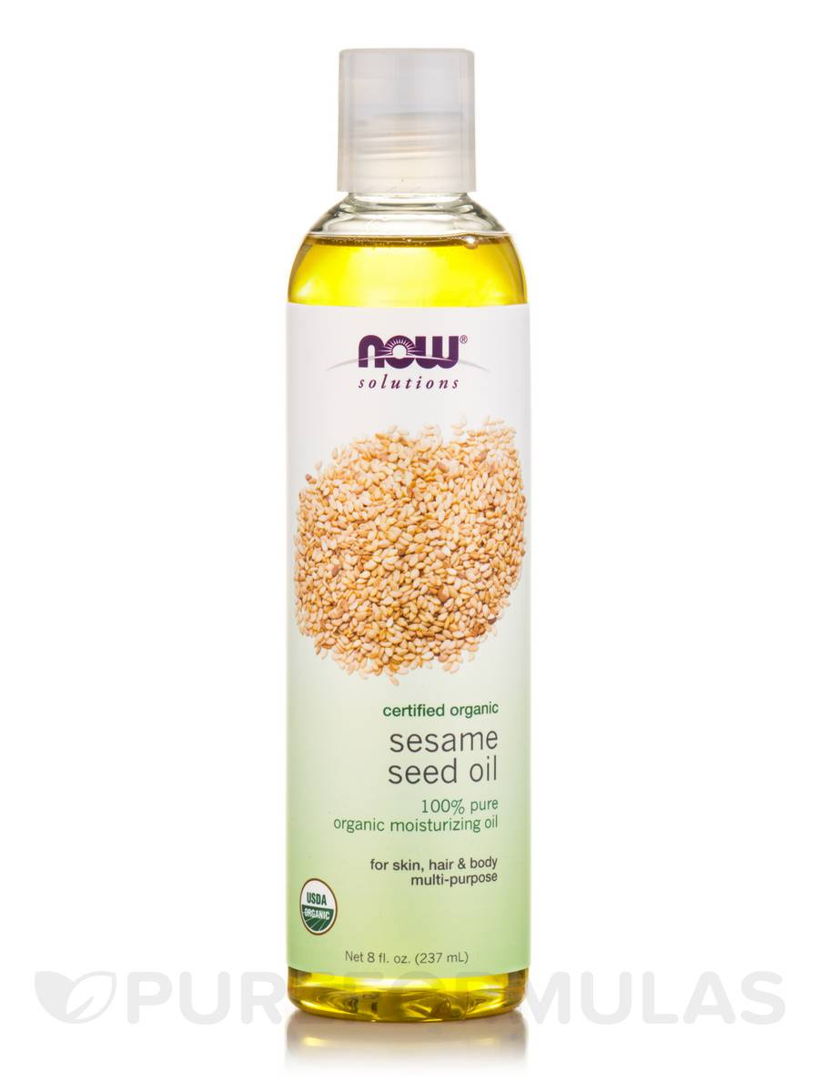 NOW® Solutions - Sesame Seed Oil, Organic