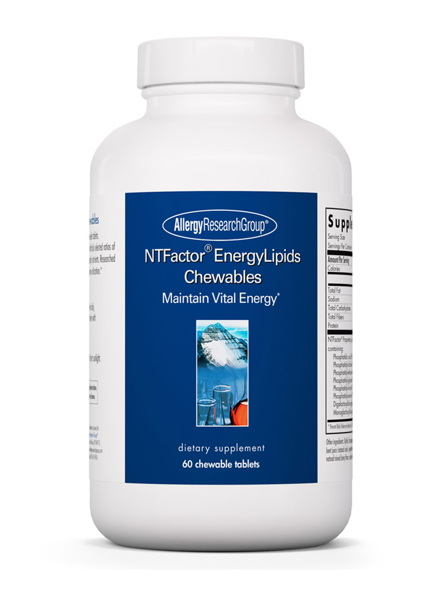 NT Factor® Energy Lipids - 60 Chewable Tablets