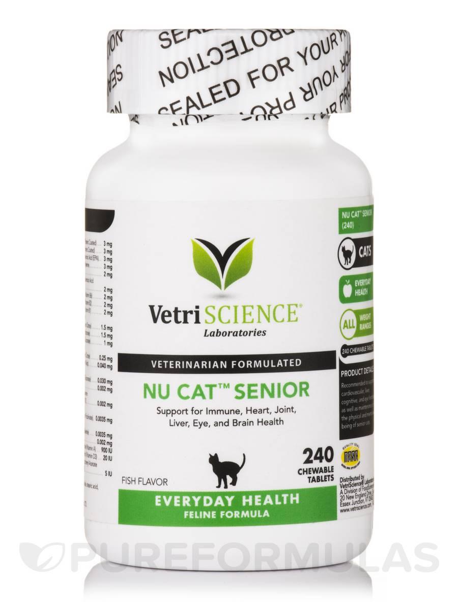 Nu-Cat Senior - 240 Chewable Tablets