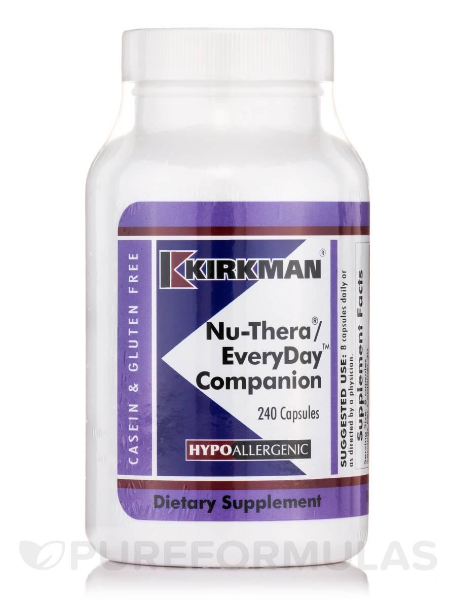 Nu-Thera EveryDay Companion -Hypoallergenic - 240 Capsules