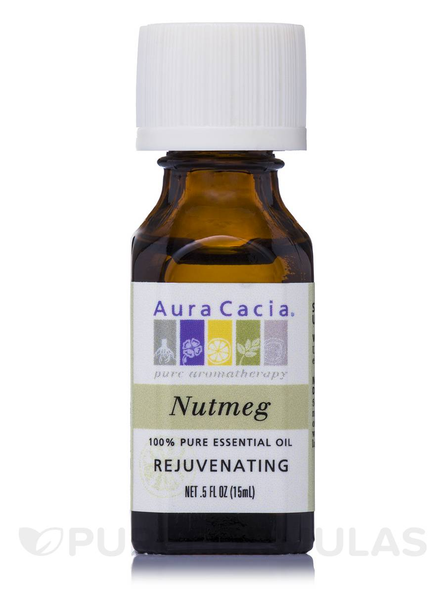 Nutmeg Essential Oil (Rejuvenating) - 0.5 fl. oz (15 ml)