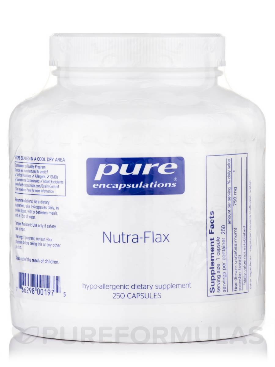 Nutra-Flax - 250 Capsules
