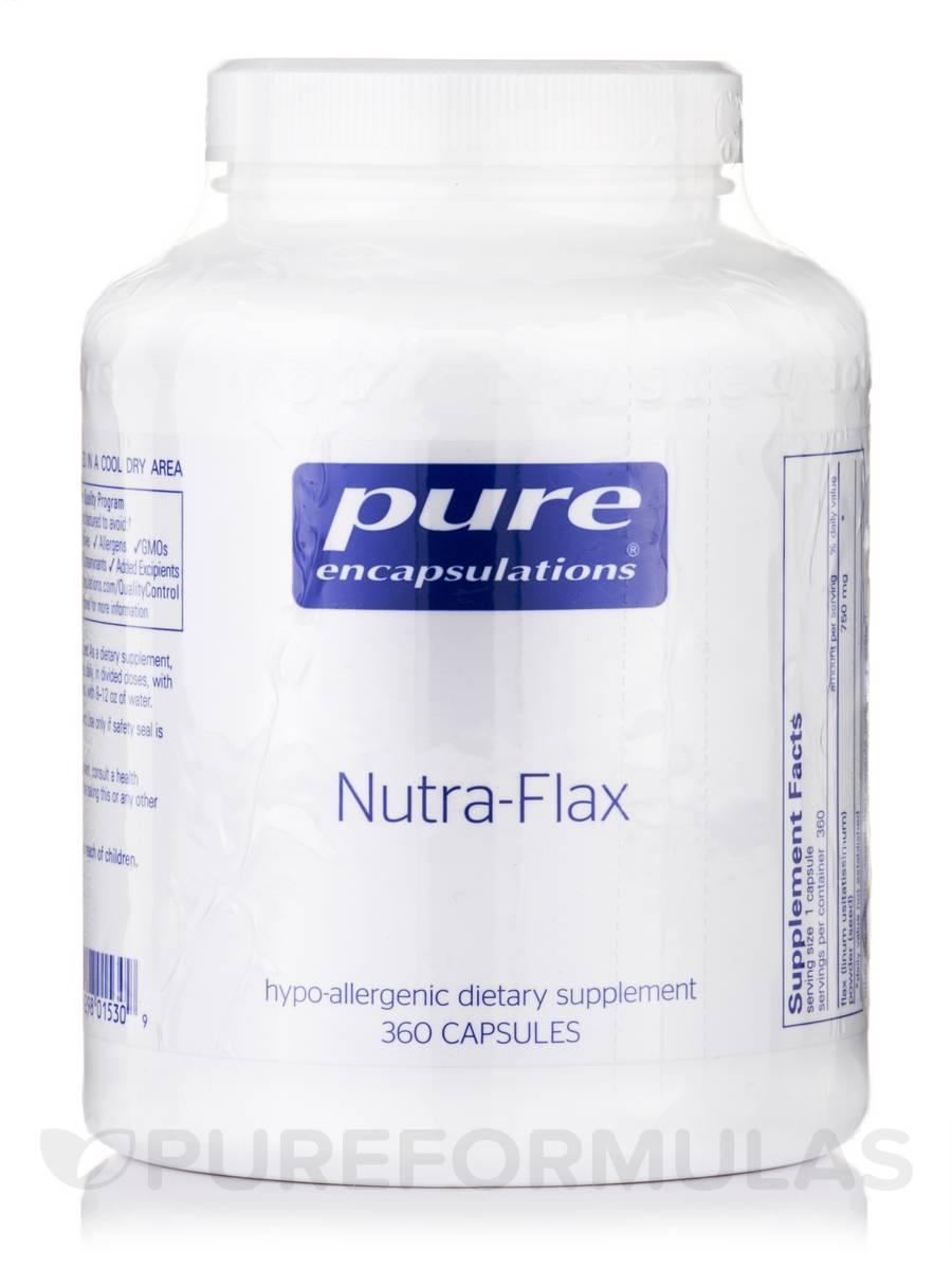 Nutra-Flax - 380 Vegetarian Capsules