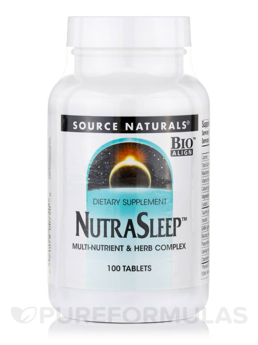 NutraSleep™ (Multi-Nutrient & Herb Complex) - 100 Tablets