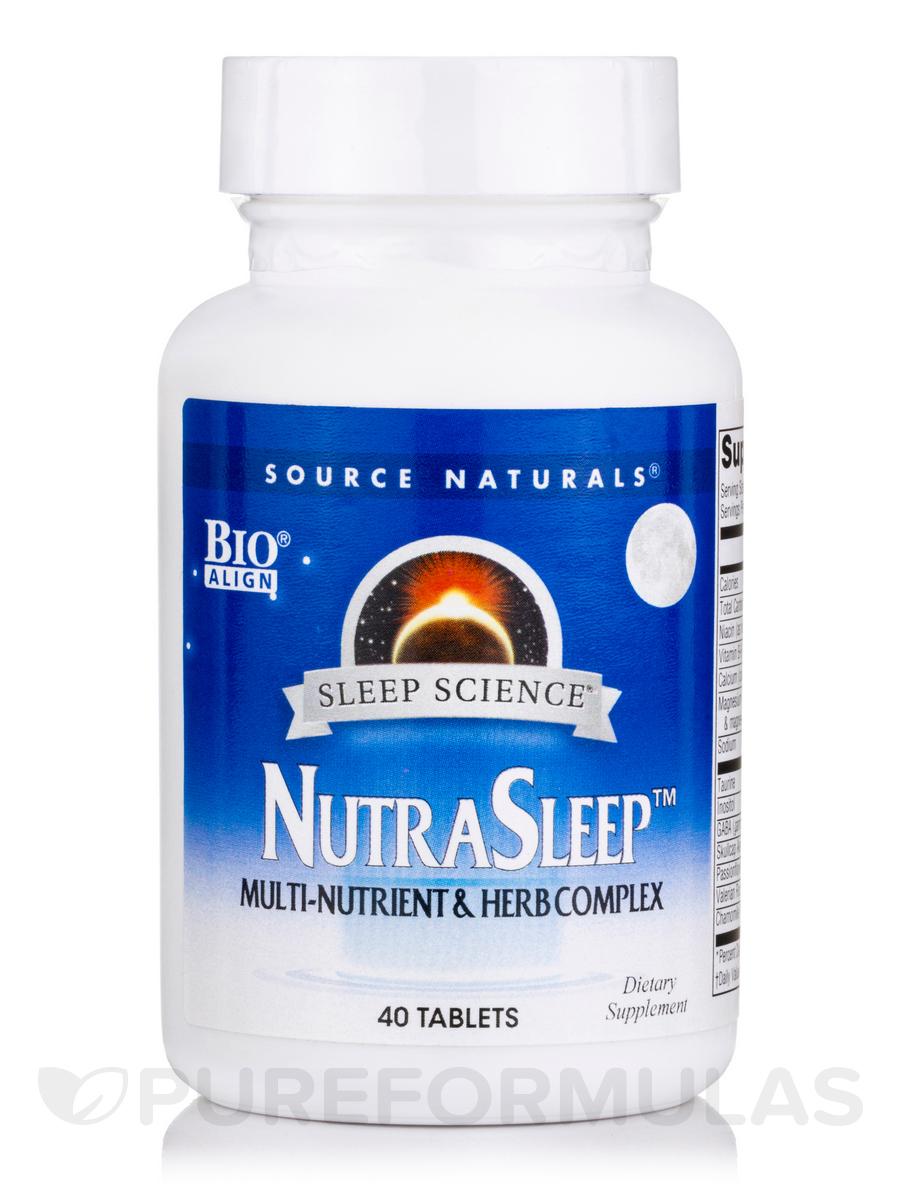 NutraSleep™ (Multi-Nutrient & Herb Complex) - 40 Tablets