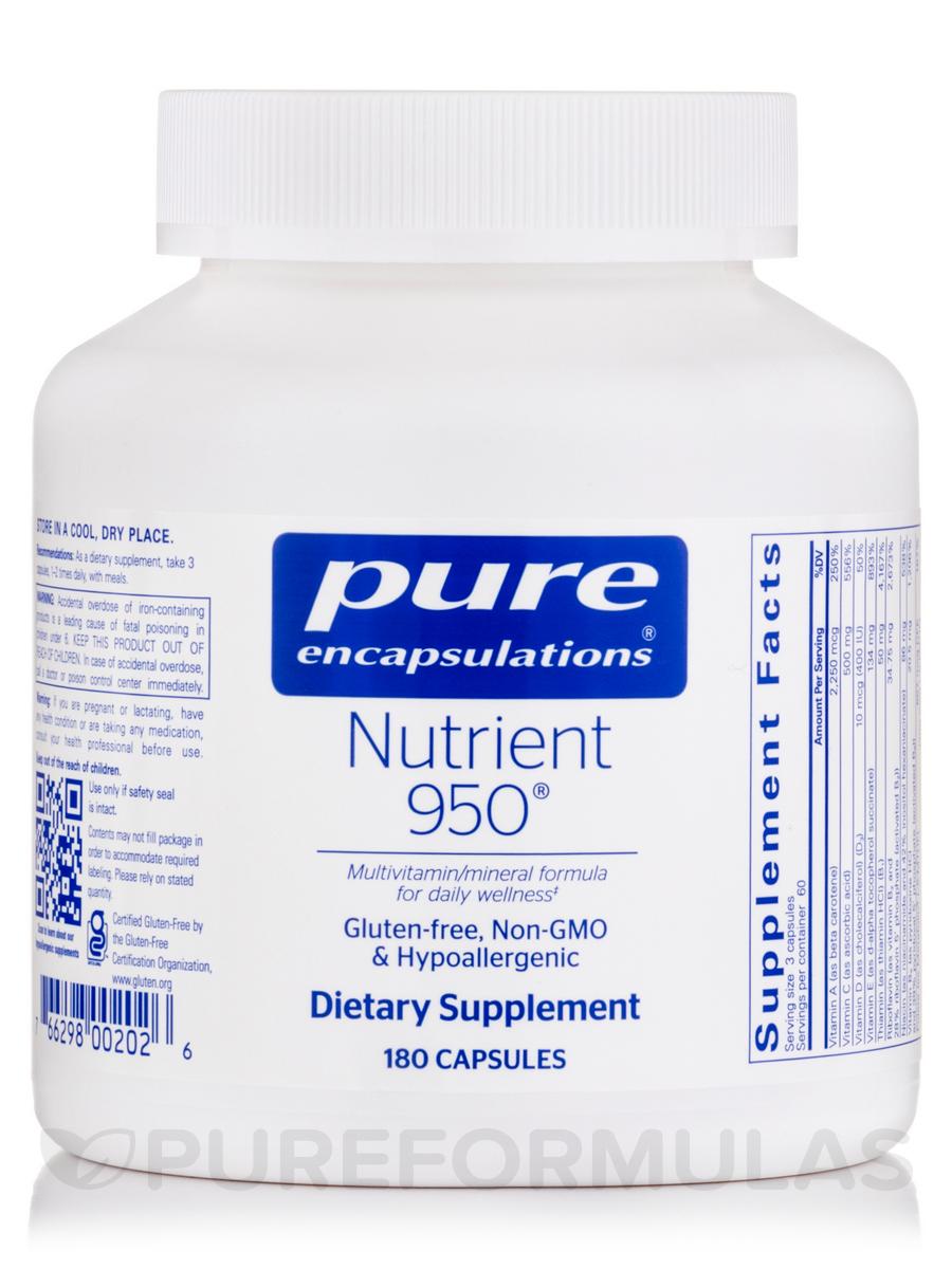 Nutrient 950 - 180 Capsules