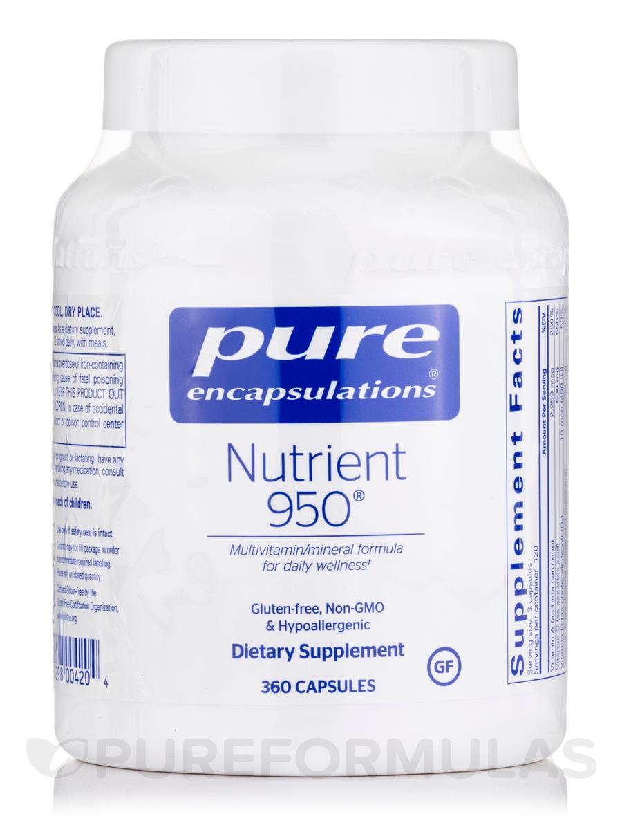 Nutrient 950 - 360 Capsules