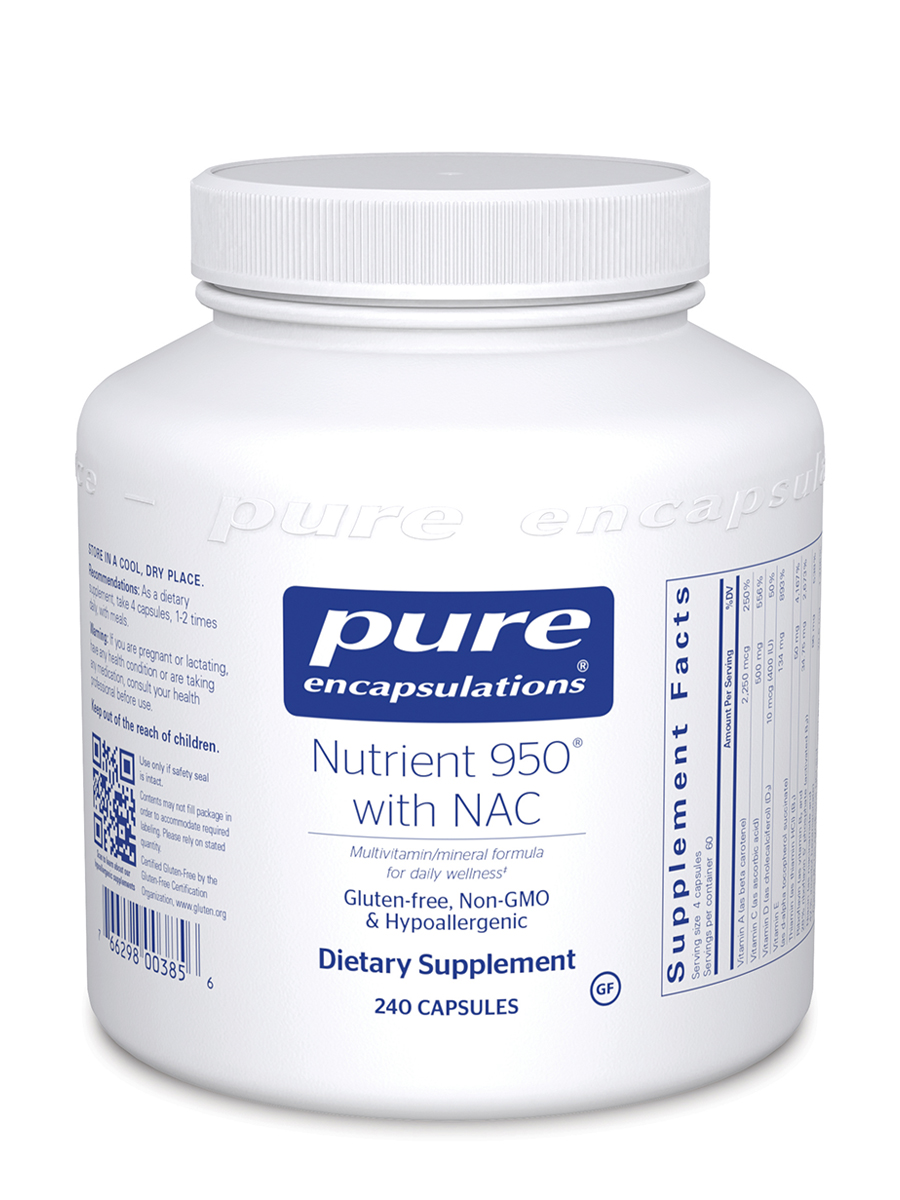 Nutrient 950 with NAC - 240 Capsules