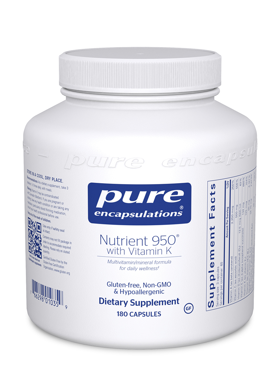 Nutrient 950 with Vitamin K - 180 Capsules