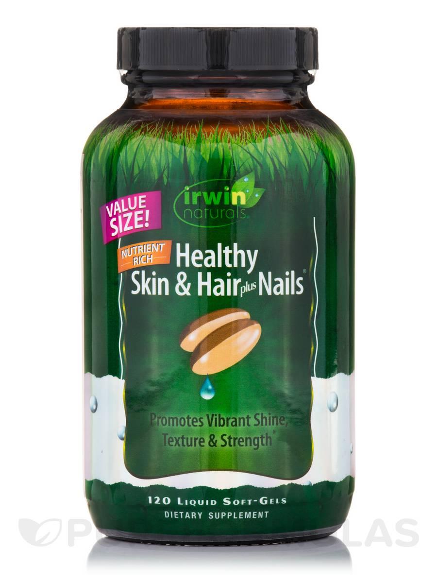 Nutrient-Rich Healthy Skin & Hair plus Nails - 120 Liquid Soft-Gels