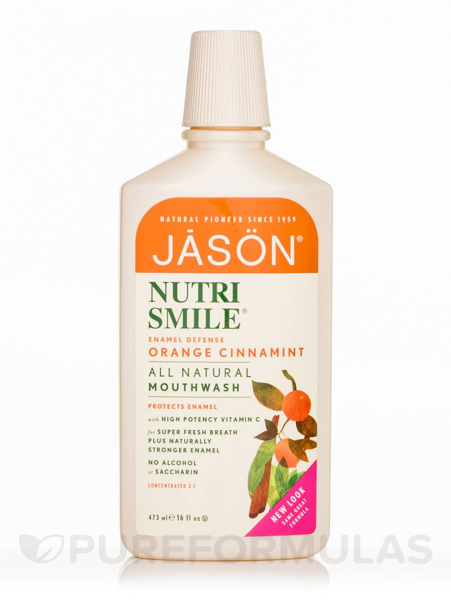 NutriSmile Enamel Defense Mouthwash Orange Cinnamint - 16 fl. oz (473 ml)