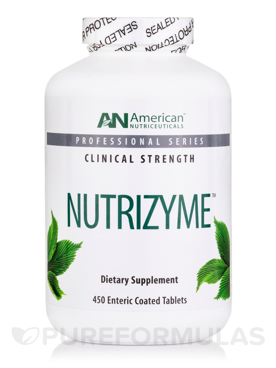 Nutrizyme 535 mg - 450 Enteric Coated Tablets