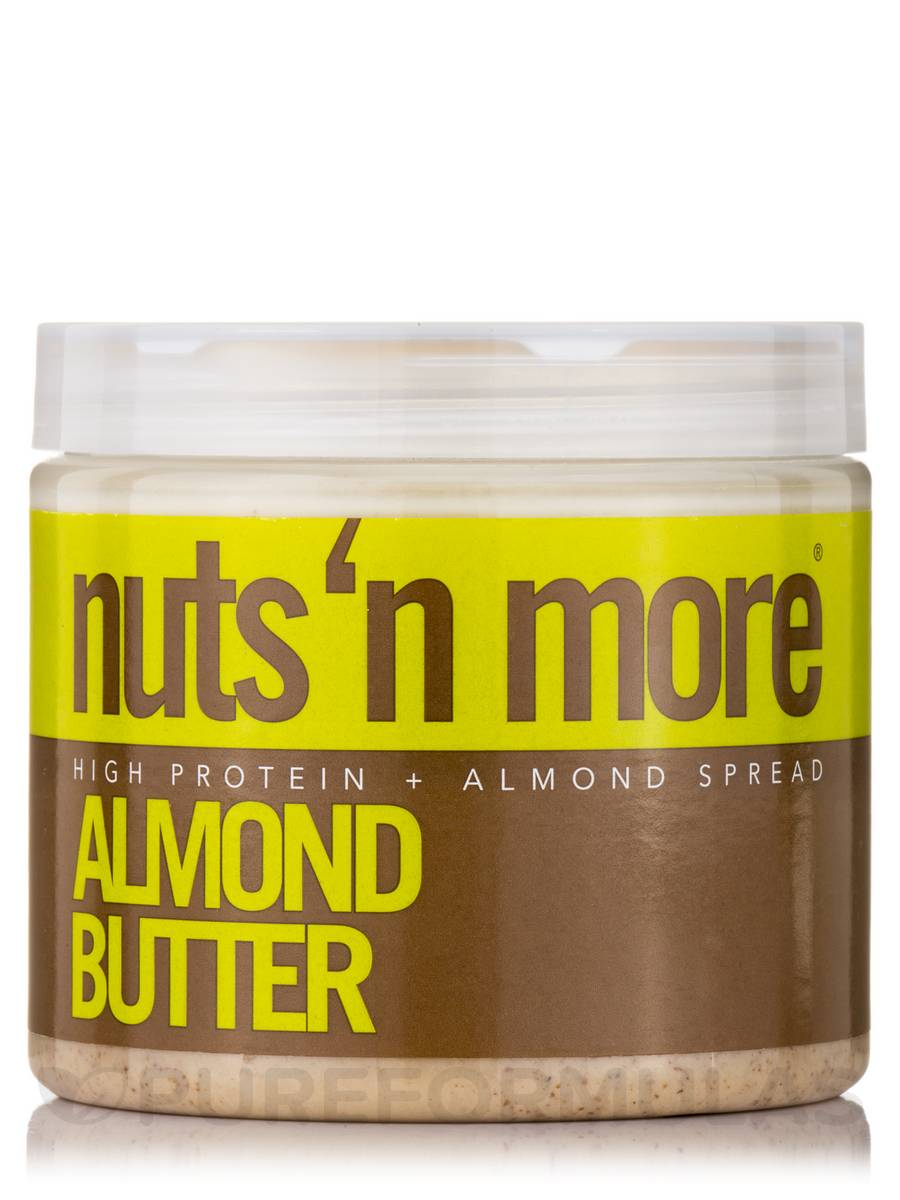 Nuts 'N More Almond Butter High Protein Spread - 16 oz (454 Grams)