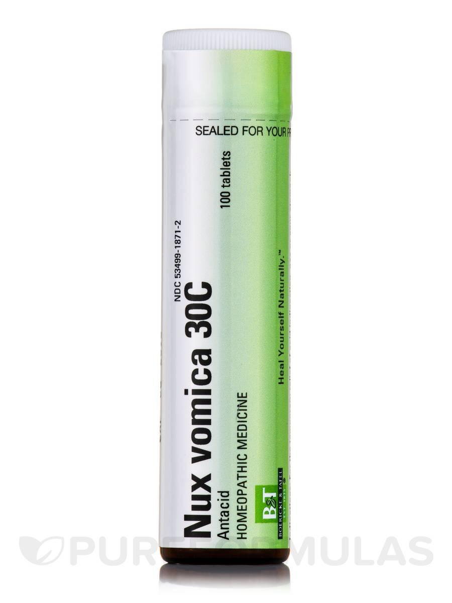 Nux vomica 30C - 100 Tablets