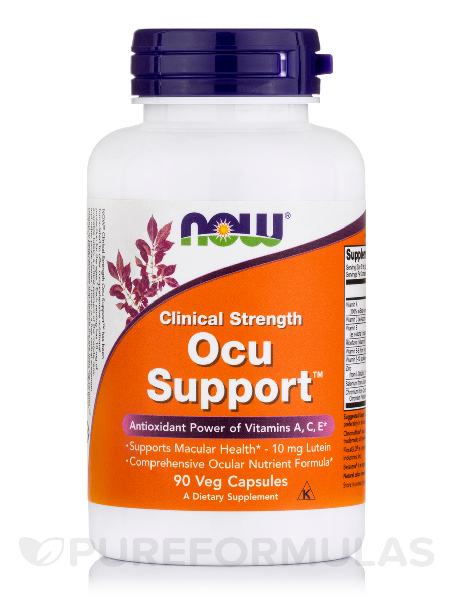 Ocu Support Clinical Strength - 90 Veg Capsules