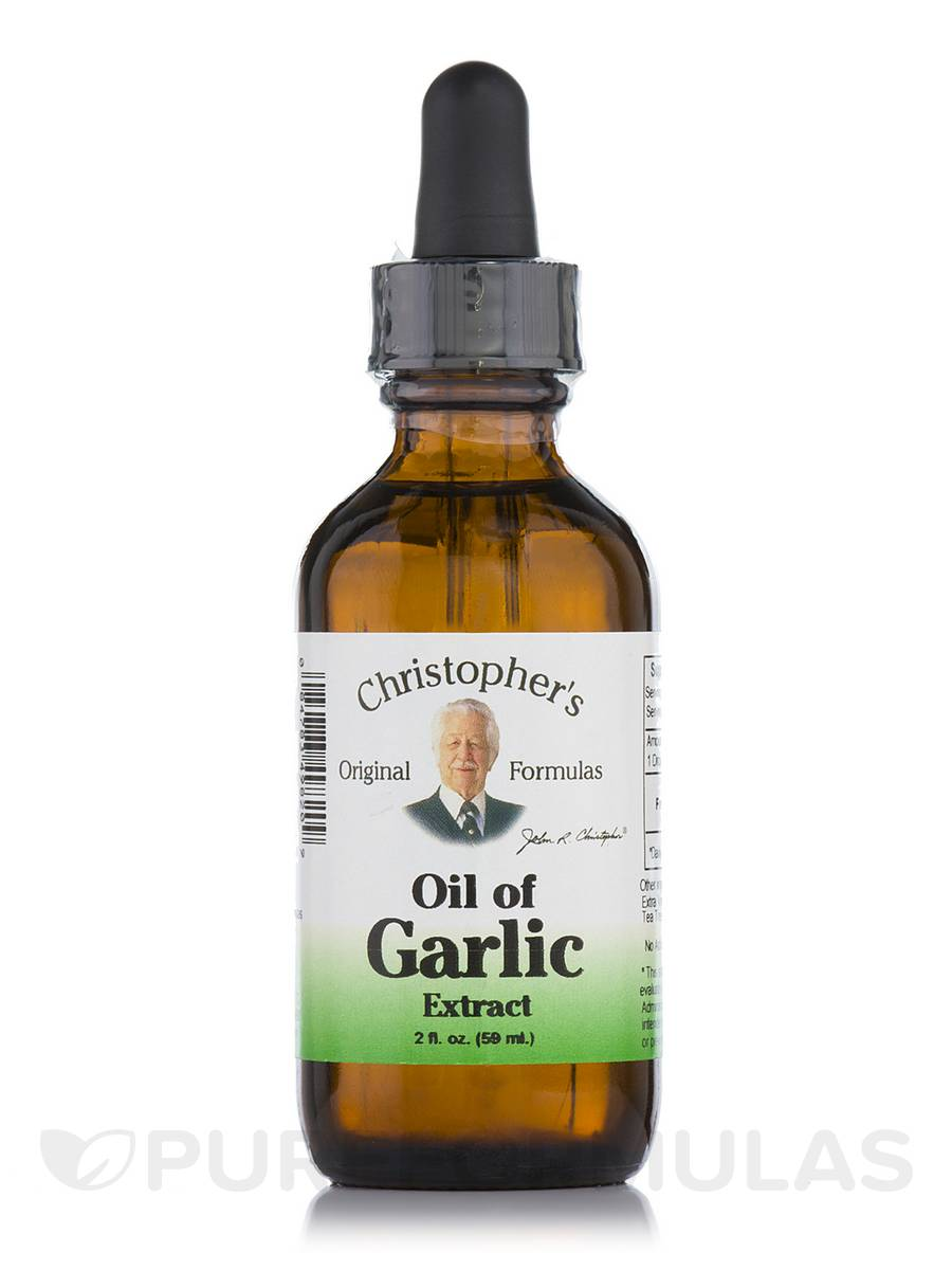 Oil of Garlic Extract - 2 fl. oz (59 ml)