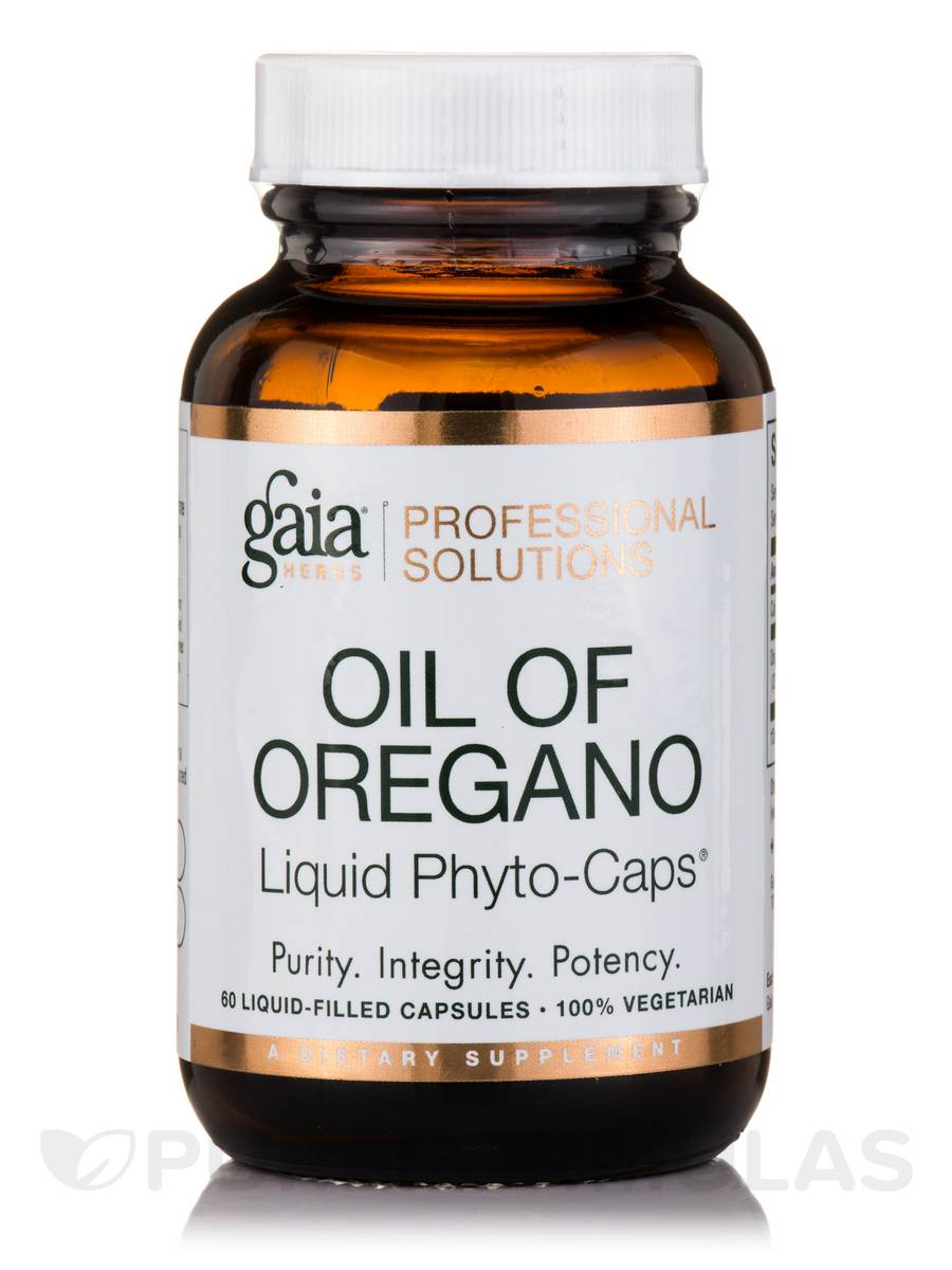 Oil of Oregano - 60 Vegetarian Liquid-Filled Capsules