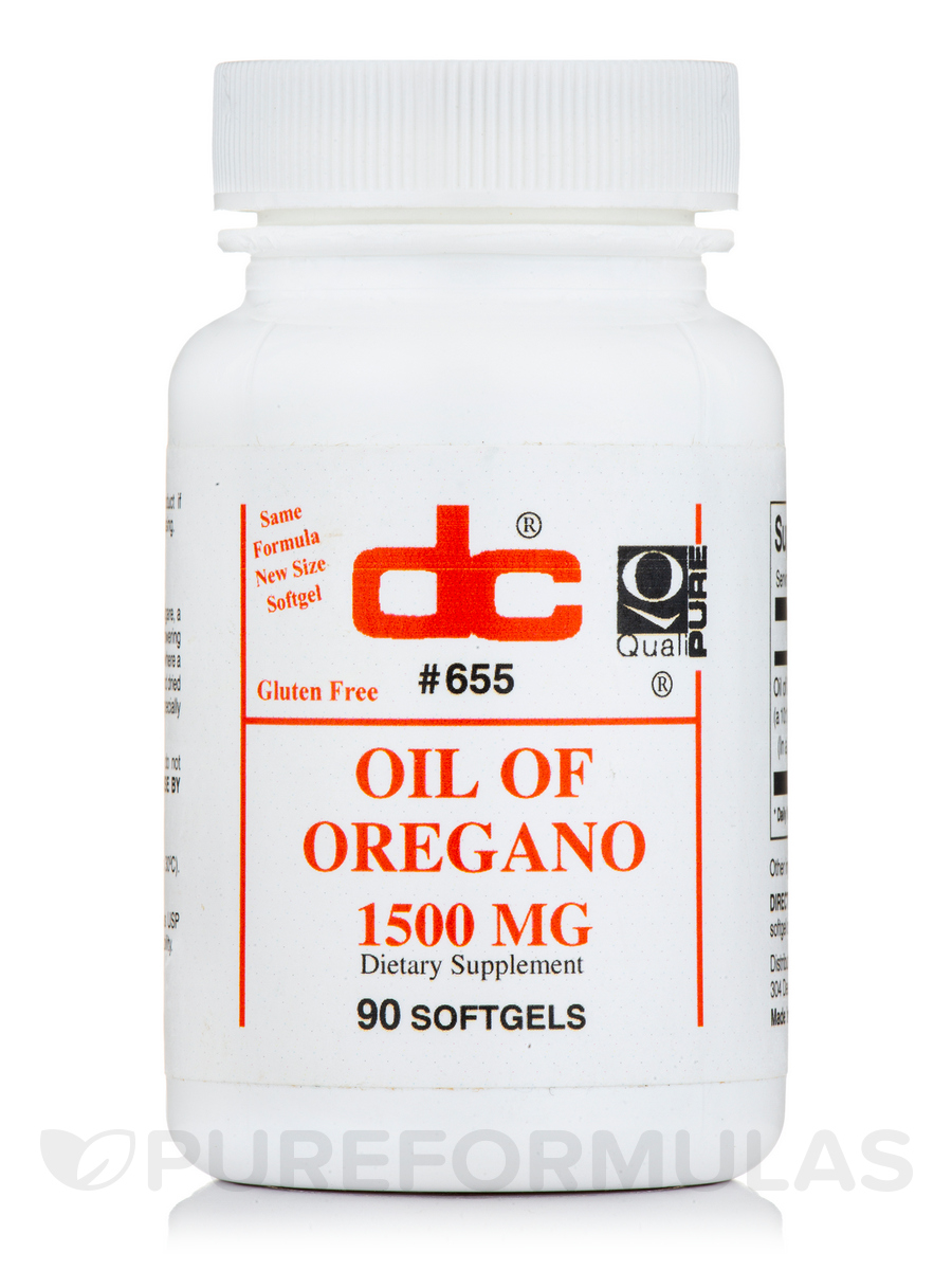 Oil of Oregano - 90 Softgels