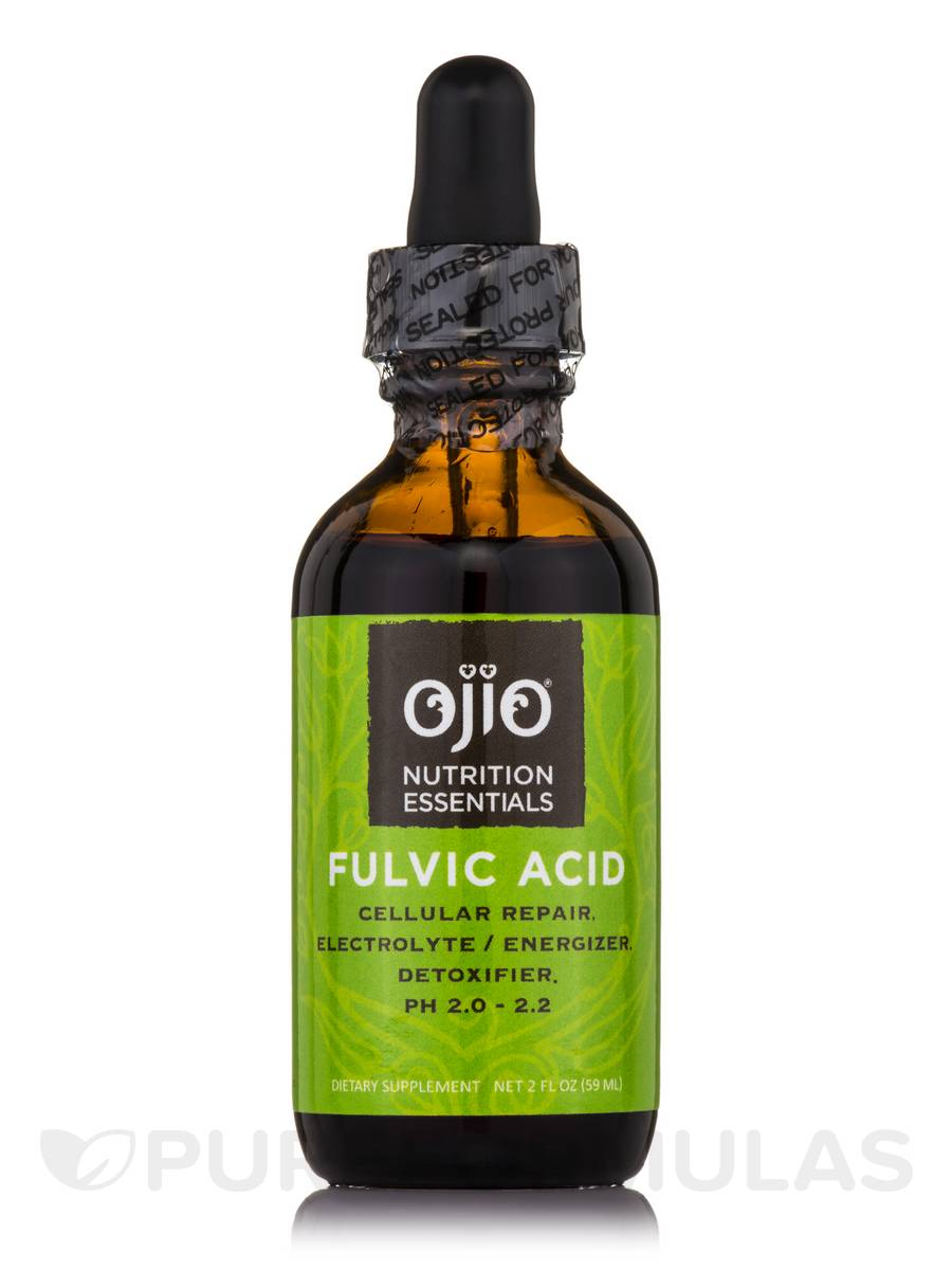 Ojio Nutrition Essentials - Fulvic Acid - 2 fl. oz (59 ml)