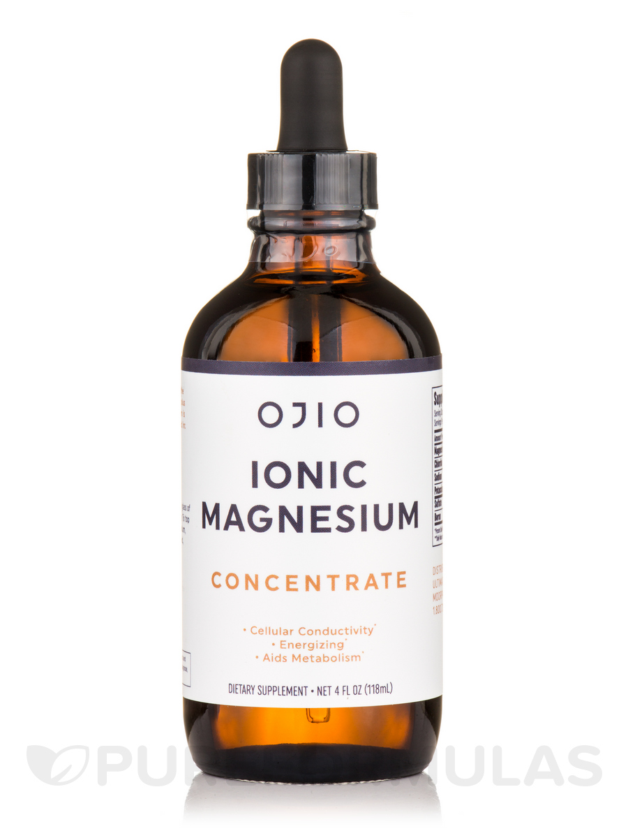 Ojio Nutrition Essentials - Ionic Magnesium Concentrate - 4 fl. oz (118 ml)