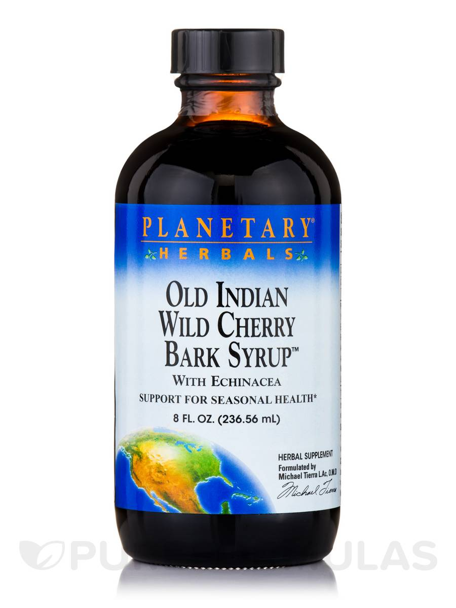 Old Indian Wild Cherry Bark Syrup - 8 fl. oz (236.56 ml)