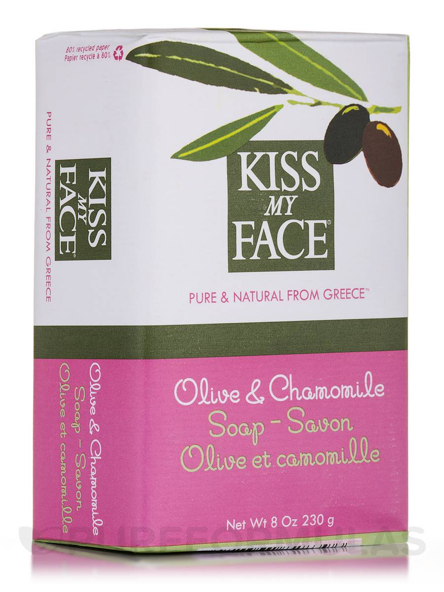 Olive & Chamomile Soap Bar - 8 oz (230 Grams)