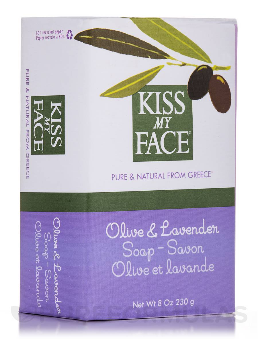 Olive & Lavender Soap Bar - 8 oz (230 Grams)