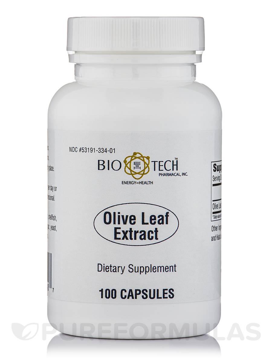 Olive Leaf - 100 Capsules