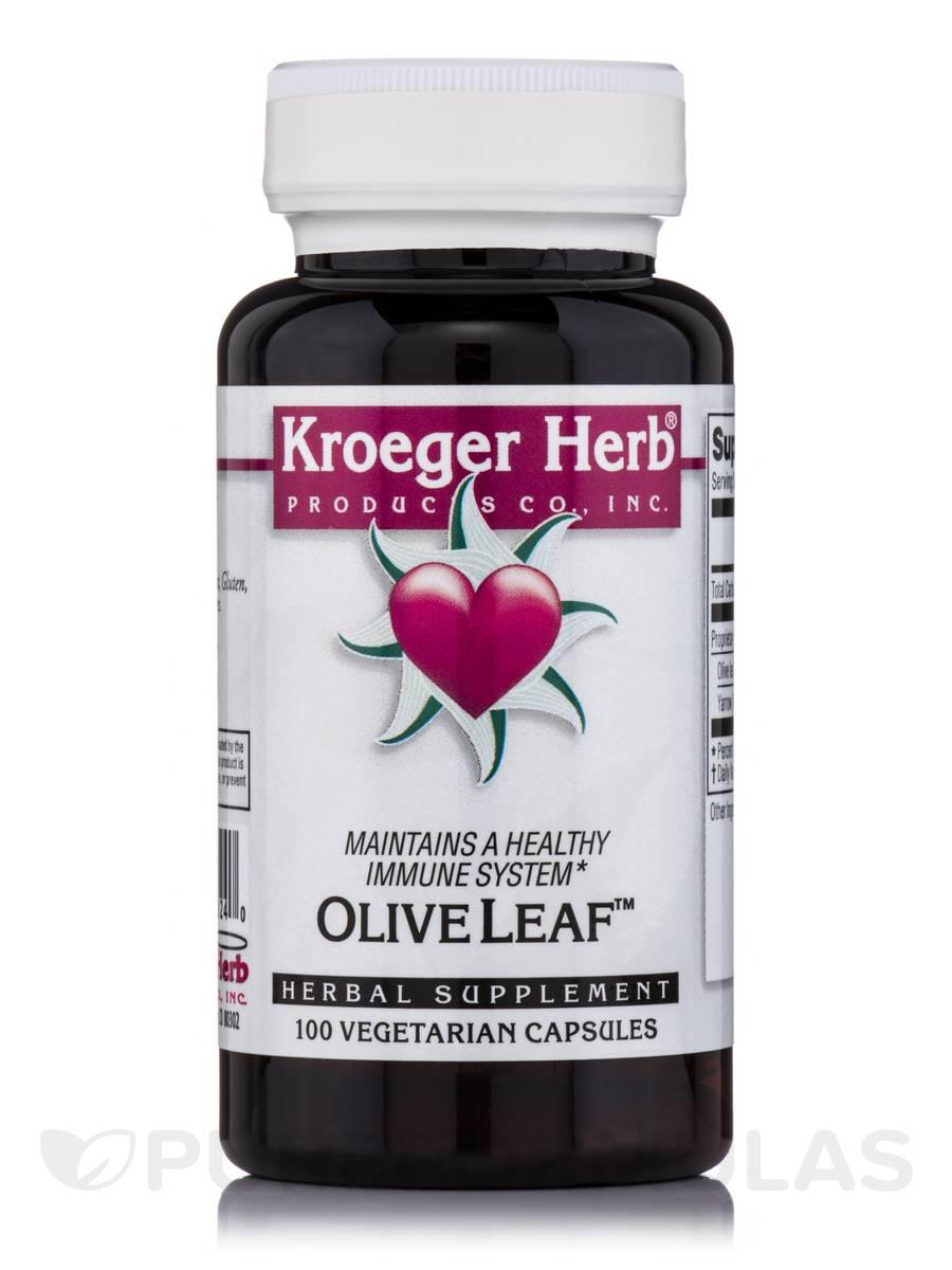 Olive Leaf - 100 Vegetarian Capsules