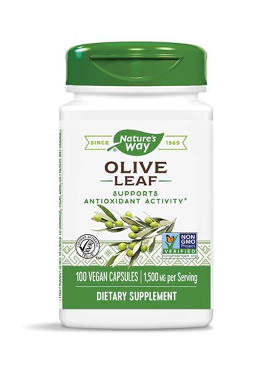 Olive Leaf 500 mg - 100 Capsules