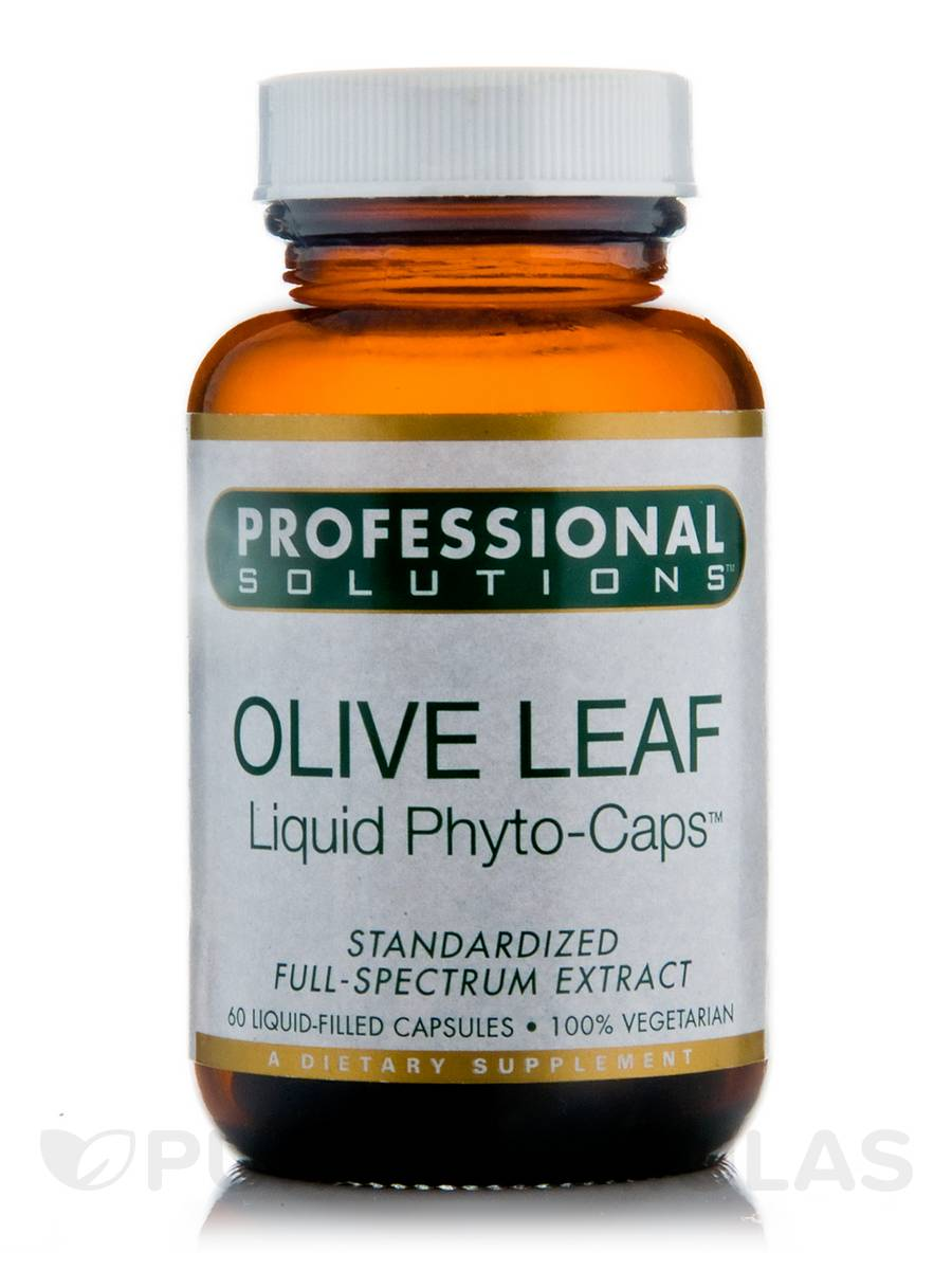 Olive Leaf - 60 Vegetarian Liquid-Filled Capsules