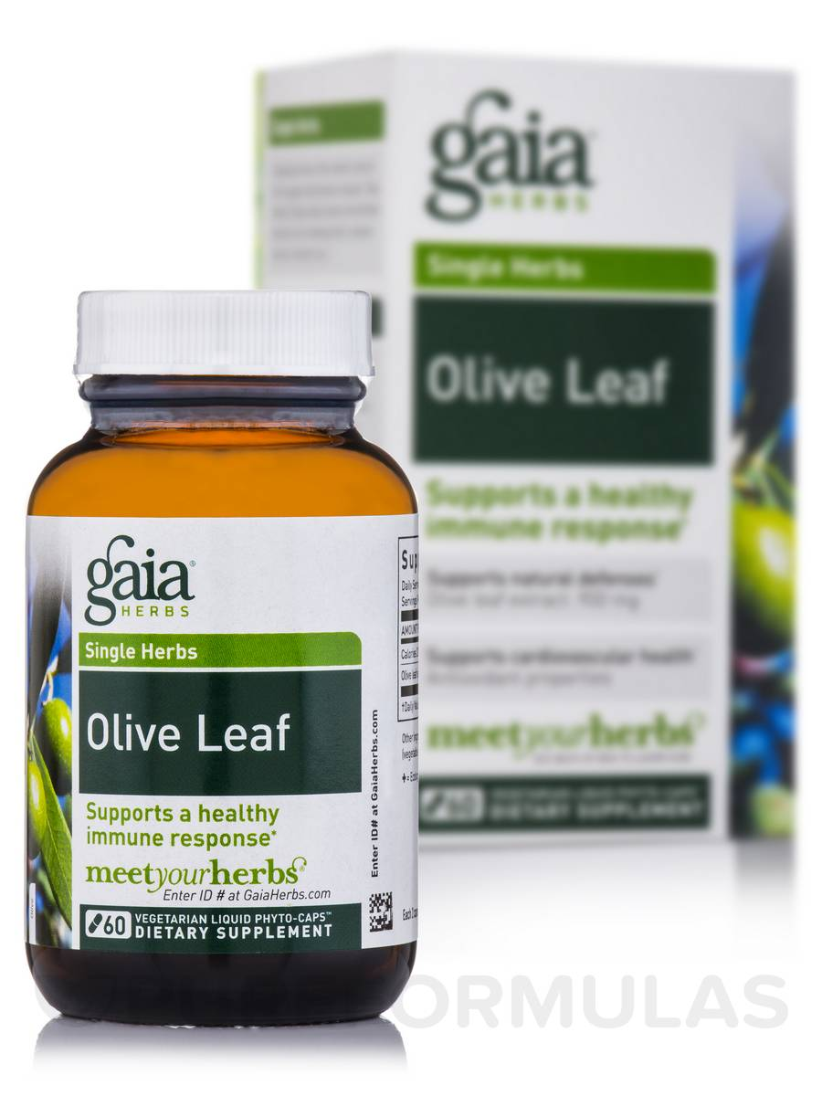 Olive Leaf - 60 Vegetarian Liquid Phyto-Caps