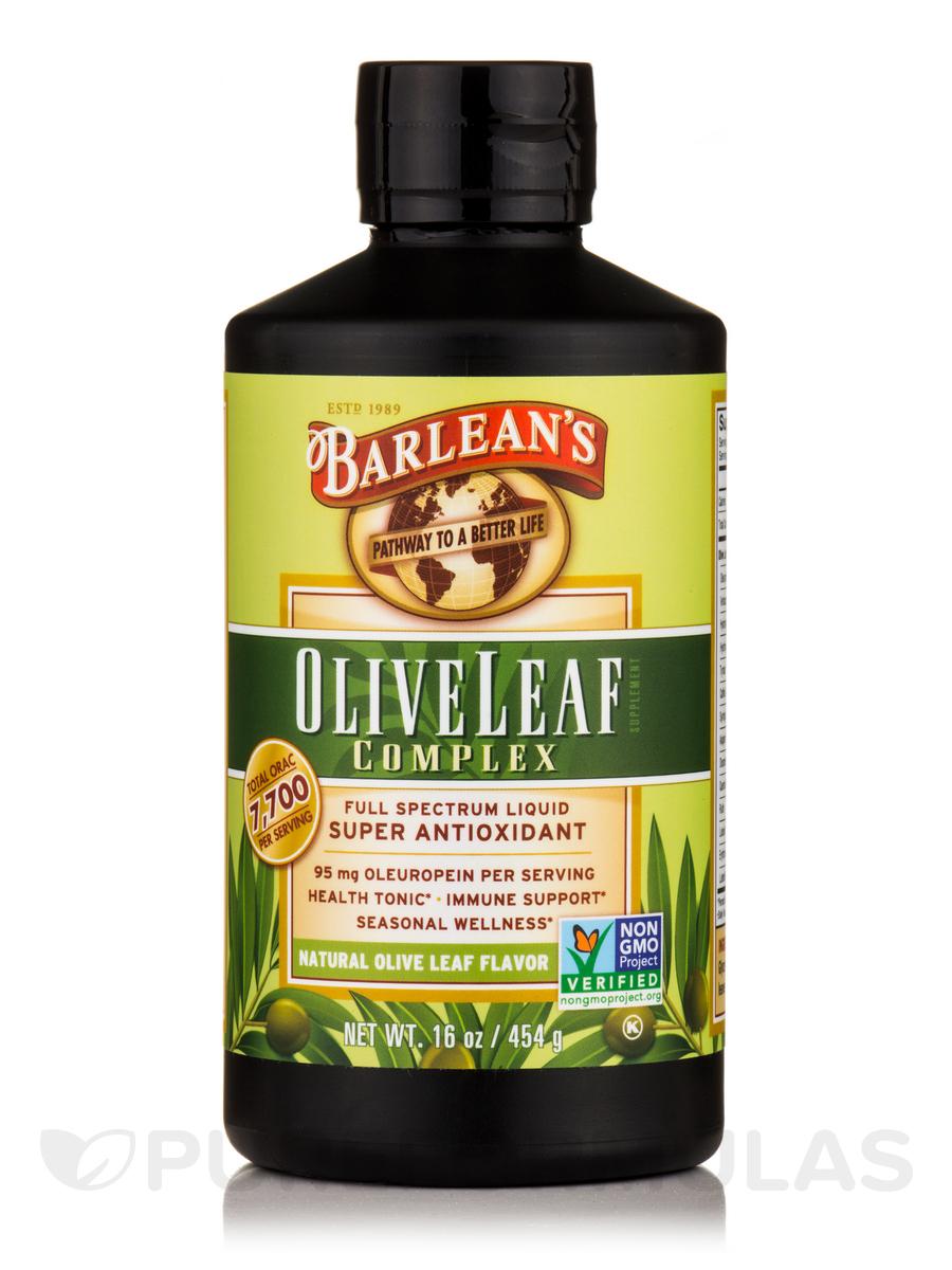 Olive Leaf Complex Natural Flavor - 16 oz (454 Grams)